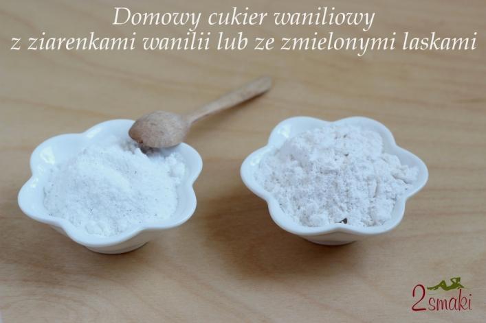 Domowy cukier z prawdziwą wanilią