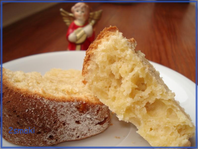 Babka serowa o smaku cytrynowym