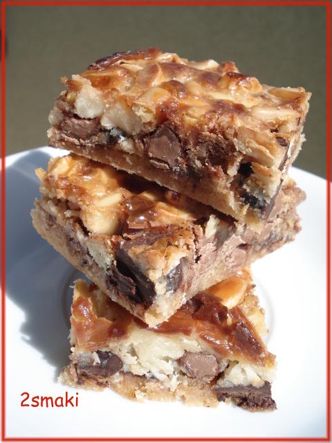Batoniki czekoladowo-orzechowe