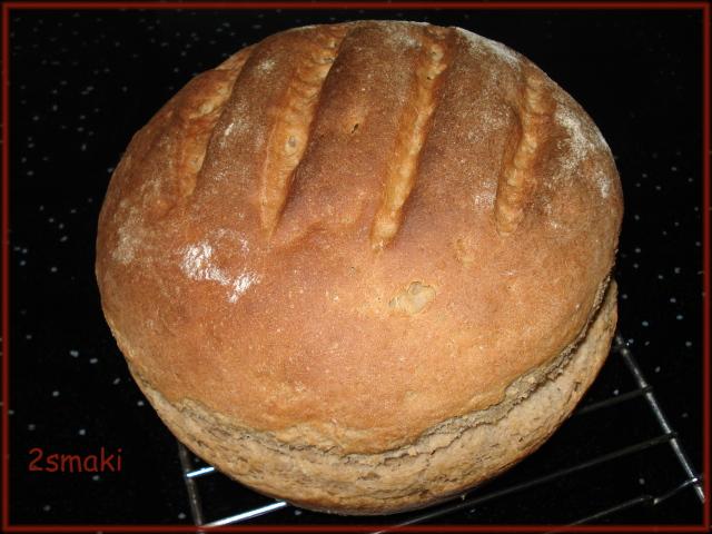 Chleb mieszany na suchym zakwasie z syropem klonowym
