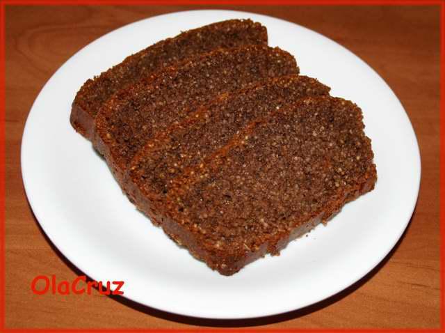 Ciasto czekoladowe z mąki razowej