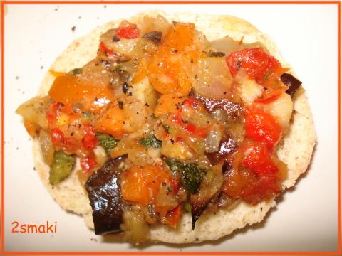 Farsz z pieczonych warzyw