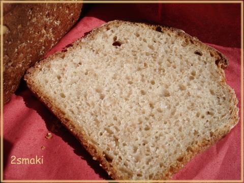 Chleb mieszany, na zakwasie