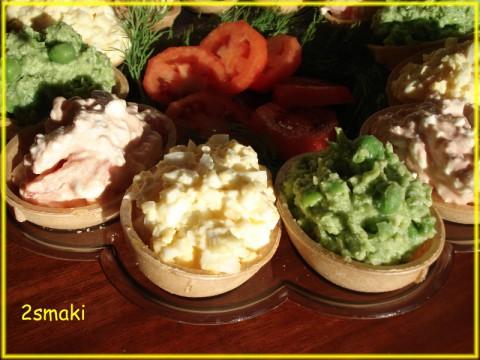 Jajka waflowe faszerowane