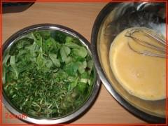 Omlet ze świeżymi ziołami 2