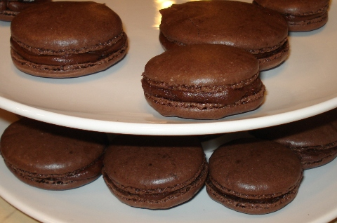 Makaroniki czekoladowe