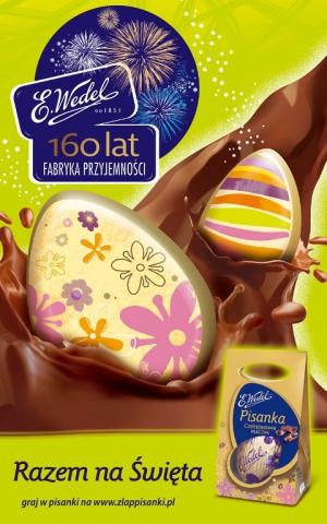 Wielkanocne słodkości Wedla