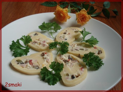 Rolada serowa po polsku