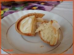 Waflowe jajka Rafaello