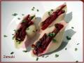 Conchiglioni (muszle) faszerowane botwinką