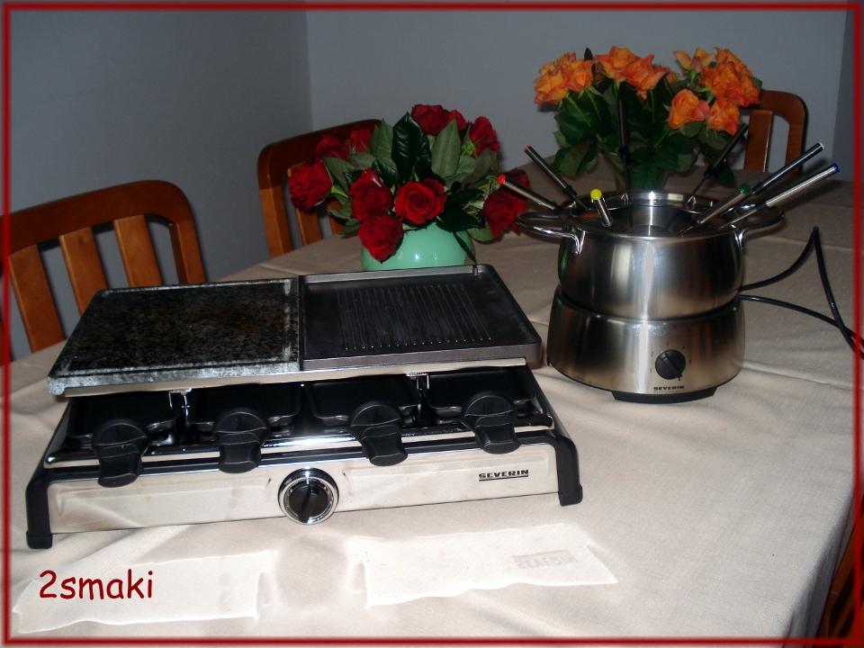 Raclette i fondue Severin