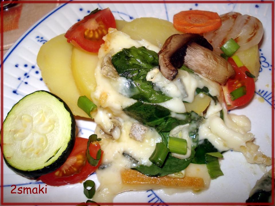 Raclette warzywny