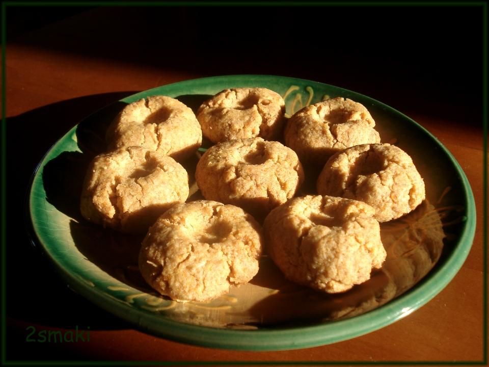 Ciasteczka z czerwonej soczewicy