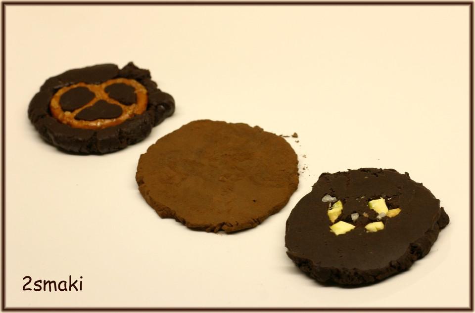 Czekoladowo-karmelowe talarki