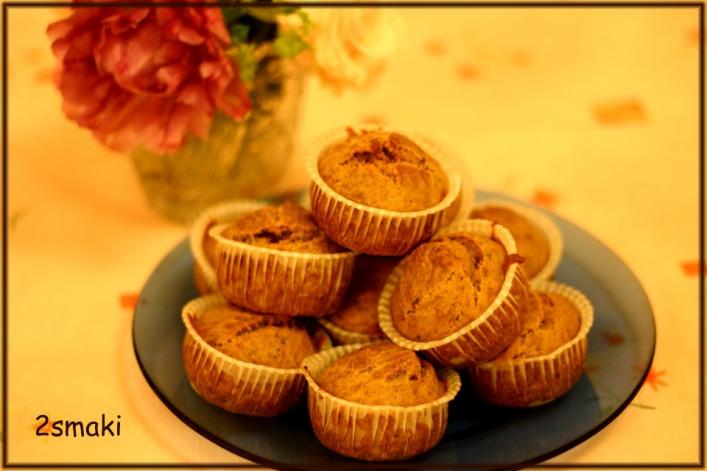 Muffiny z pieczarkami, porem i słonecznikiem