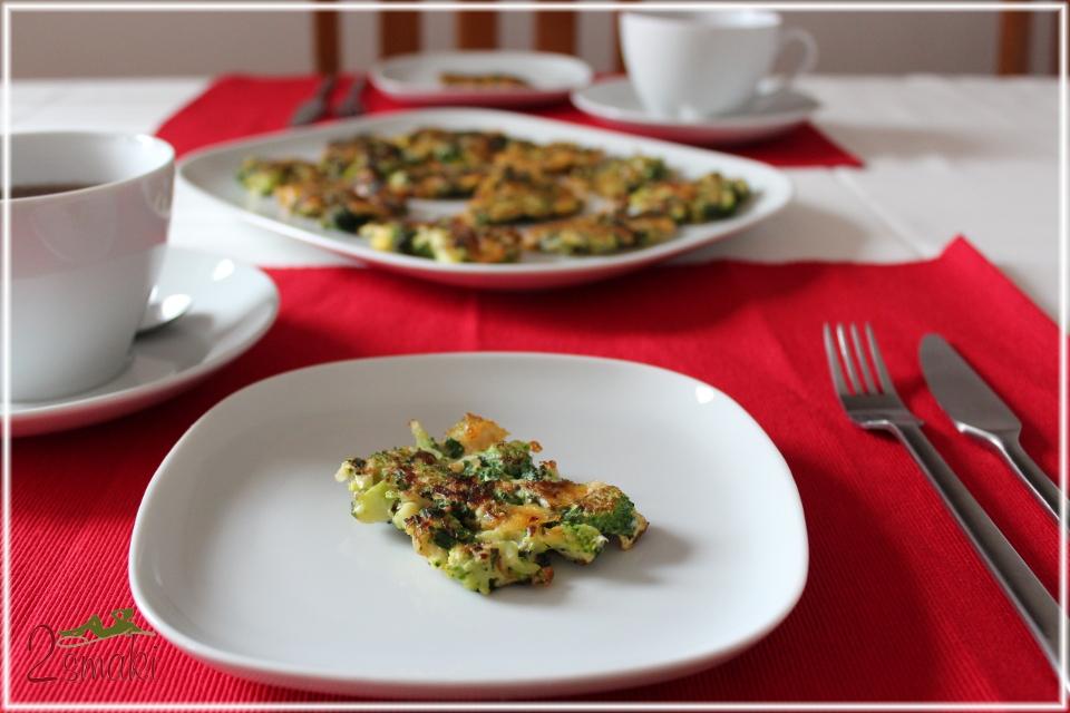 Placuszki z brokułu