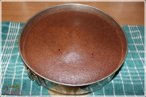 Tort czekoladowy z kremem mascarpone 3