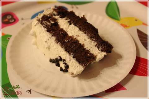 Tort czekoladowy z masą mascarpone