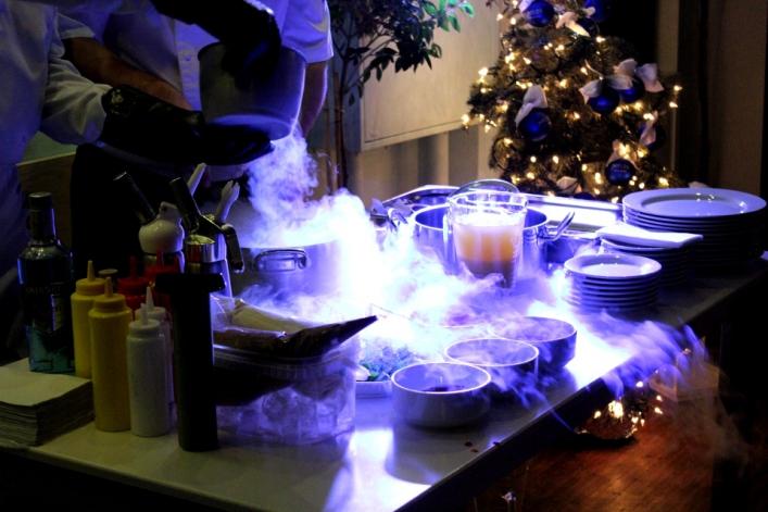 Ciekły azot, czary w Restauracji MYLOS