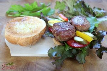 Kotlet burger z indyka 2