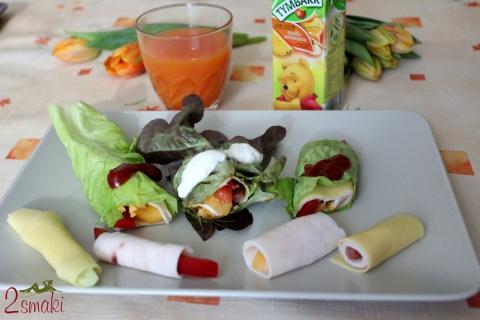 Ruloniki śniadaniowe