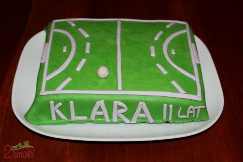 Tort boisko do piłki ręcznej