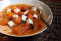 Zupa z pieczonej dyni i papryki 00