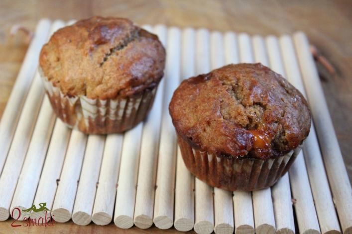 Muffiny razowe z białą czekoladą 0