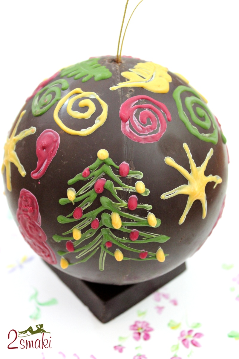 Warsztaty Wedel bombka czekoladowa