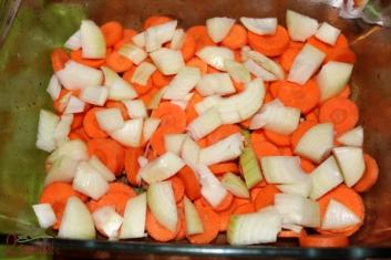 Królik pieczony z warzywami 3
