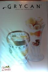 Konferencja Grycan 2014 lody jogurtowe z mango