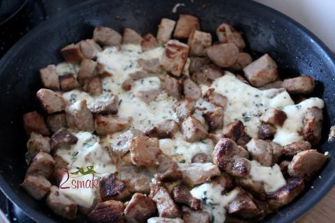 Polędwiczki z serem pleśniowym 1
