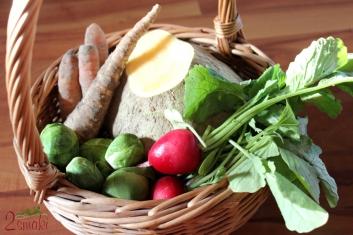 Sałatka z zimowych warzyw 1