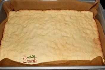 Ciasto kruche z rabarbarem i bezą 2