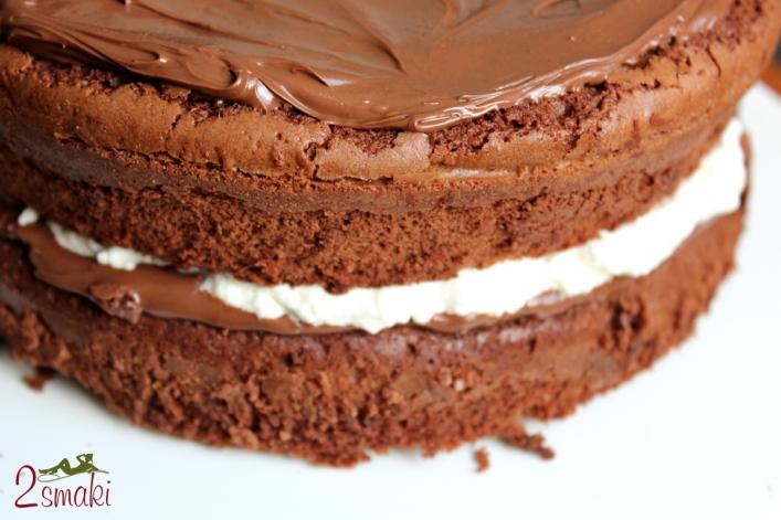 Tort brownies z nutellą 0