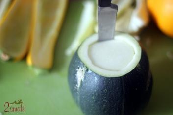 Cukinia faszerowana z pistacjami 2
