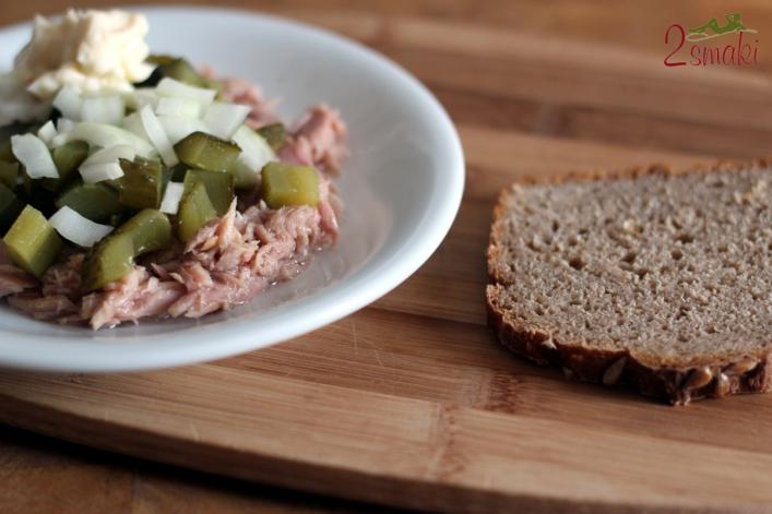 Pasta z tuńczyka i ogórka kiszonego 0