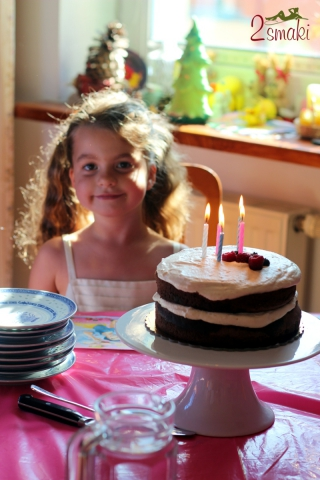 Tort czekoladowy z kremem karmelowym 0