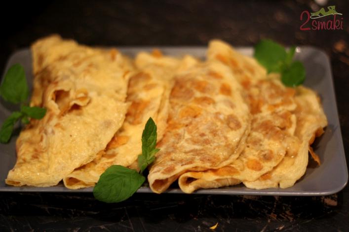 Leniwe śniadanie z Lubellą - omlet