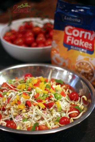 Leniwe śniadanie z Lubellą - warzywa 1
