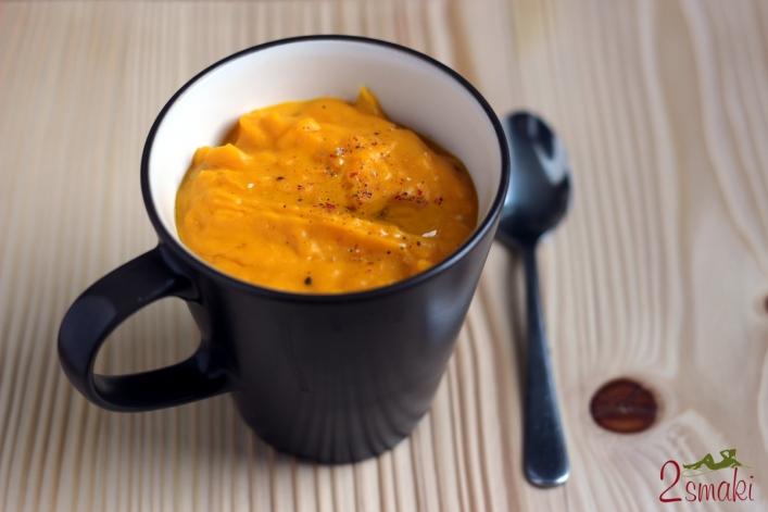 Zupa z pieczonej dyni 0