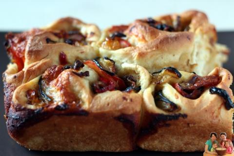 Roladki z pizzy