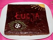 Murzynek jako tort imieninowy Łucji