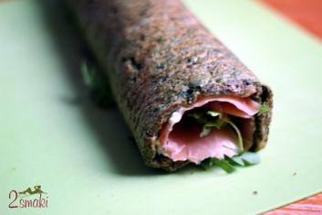 Roladki łososiowo-szpinakowe 2