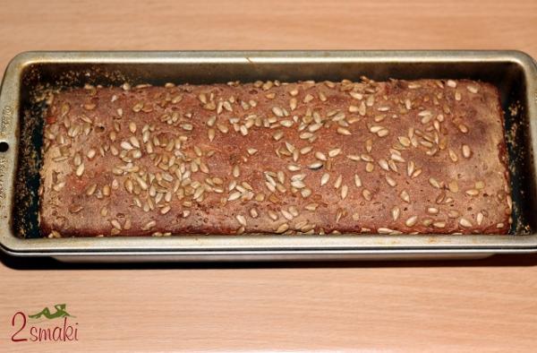 Chleb żytni na zakwasie - upieczony