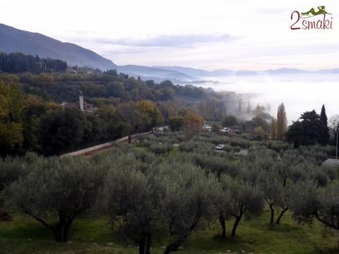 Włochy Asyż panorama