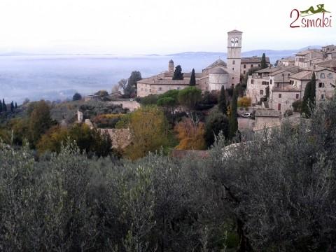 Włochy piękne - Asyż widok 3