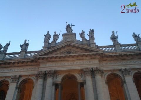 Włochy piękne - Rzym Bazylika Świętego Jana na Lateranie