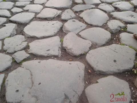 Włochy piękne - Rzym kamienna droga