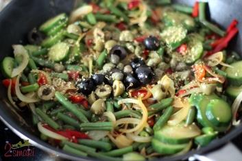 Pełnoziarniste naleśniki z warzywami po włosku 6